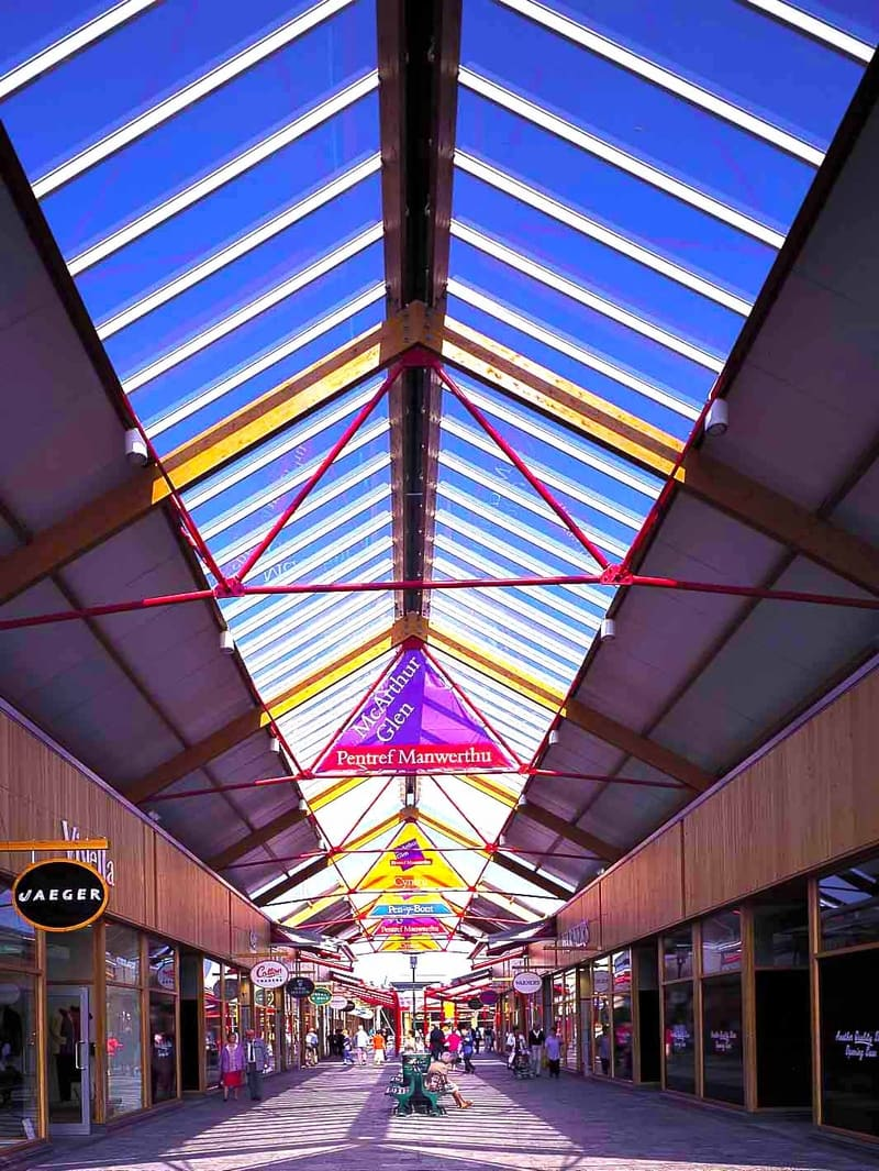 outlet village glazing