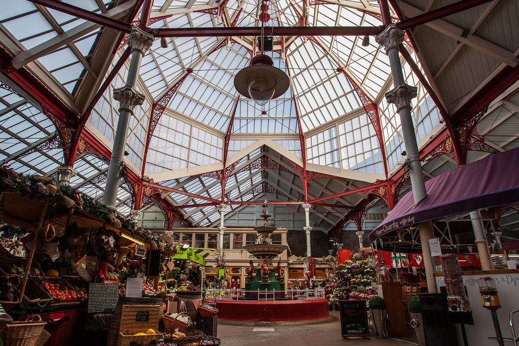 PlasGard Patent Glazed Roof for Jersey Market