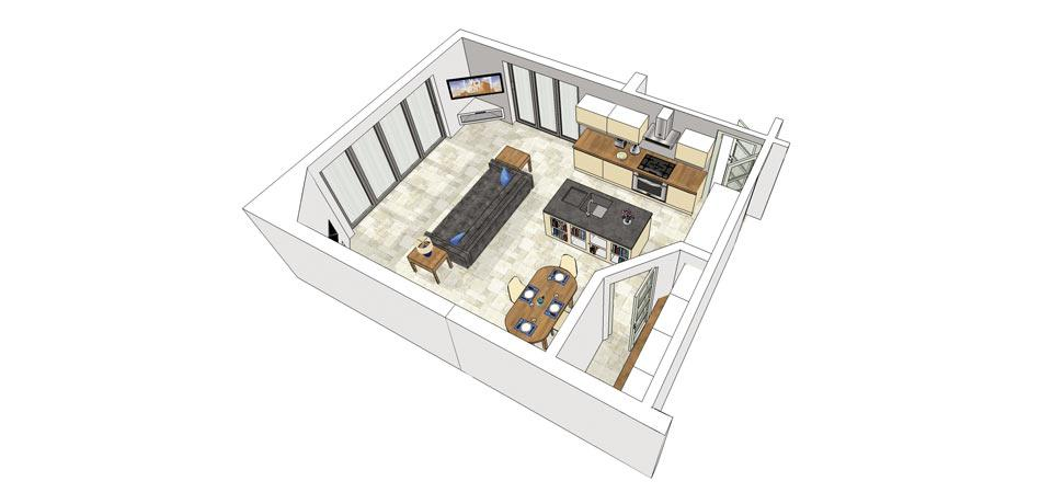 Build The Ultimate Kitchen/Dayroom Extension
