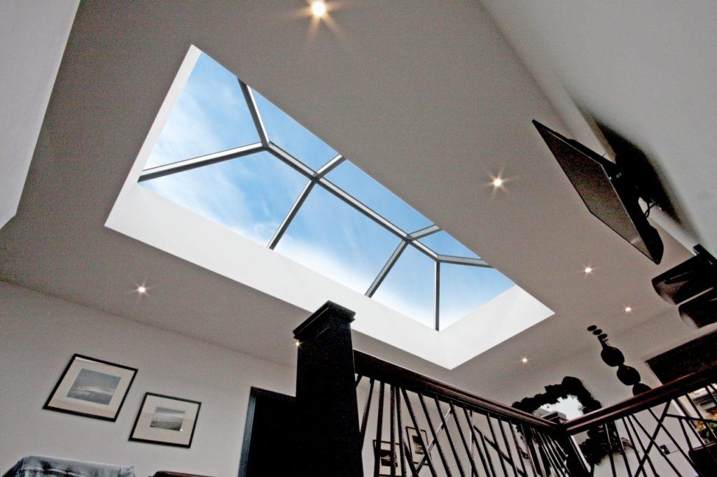 Korniche Roof Lantern inside modern home